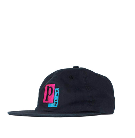 Parra Pages 6 Panel Hat: Black