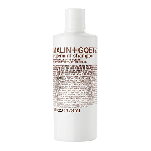 Skincare + Fragrance Malin + Goetz Peppermint Shampoo: 473ml - The Union Project, Cheltenham, free delivery
