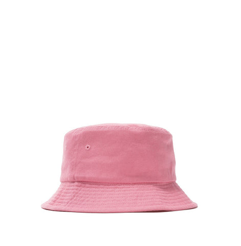 Stussy Stock Canvas Bucket Hat: Pink