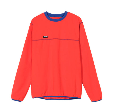 Stussy Polar Fleece Crew: Red