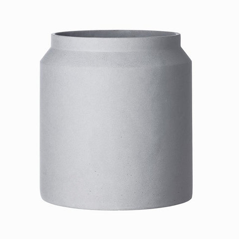 Pot Large: Light Grey