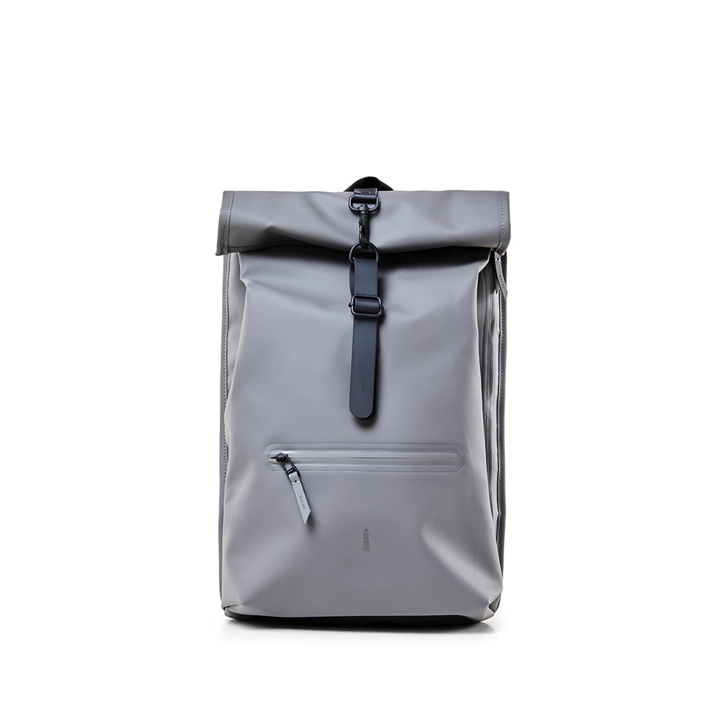 Rains Rolltop Rucksack: Charcoal - The Union Project