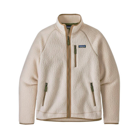 Patagonia Retro Pile Jacket: Natural
