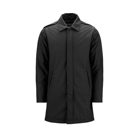 Rains Mac Coat: Black