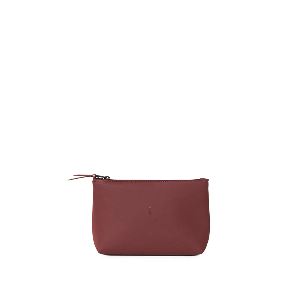 Rains Cosmetic Bag: Maroon - The Union Project