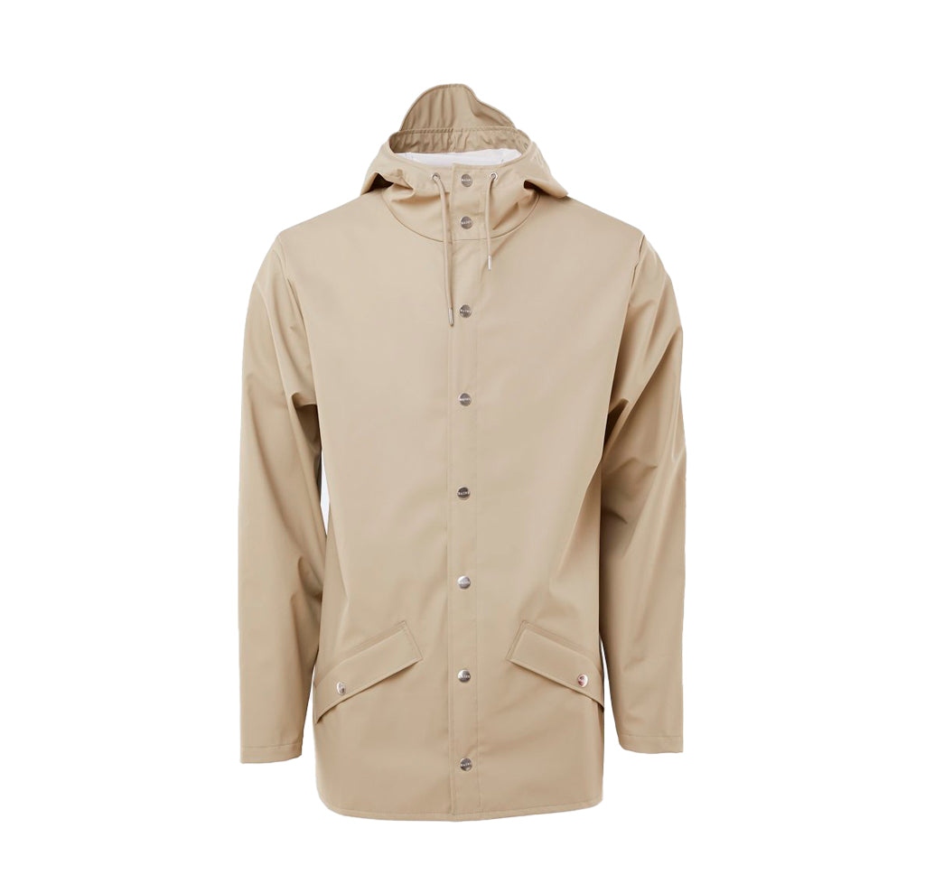 Rains Jacket: Beige - The Union Project