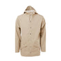 Rains Jacket: Beige