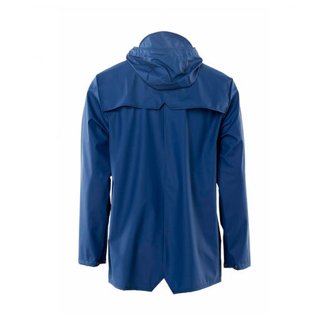 Rains Jacket: Klein Blue