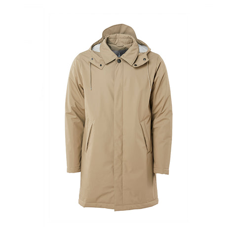 Rains Mac Coat: Beige