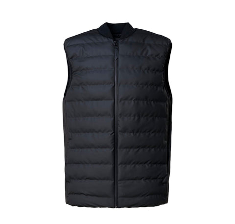 Outerwear Rains Trekker Vest: Black - The Union Project, Cheltenham, free delivery