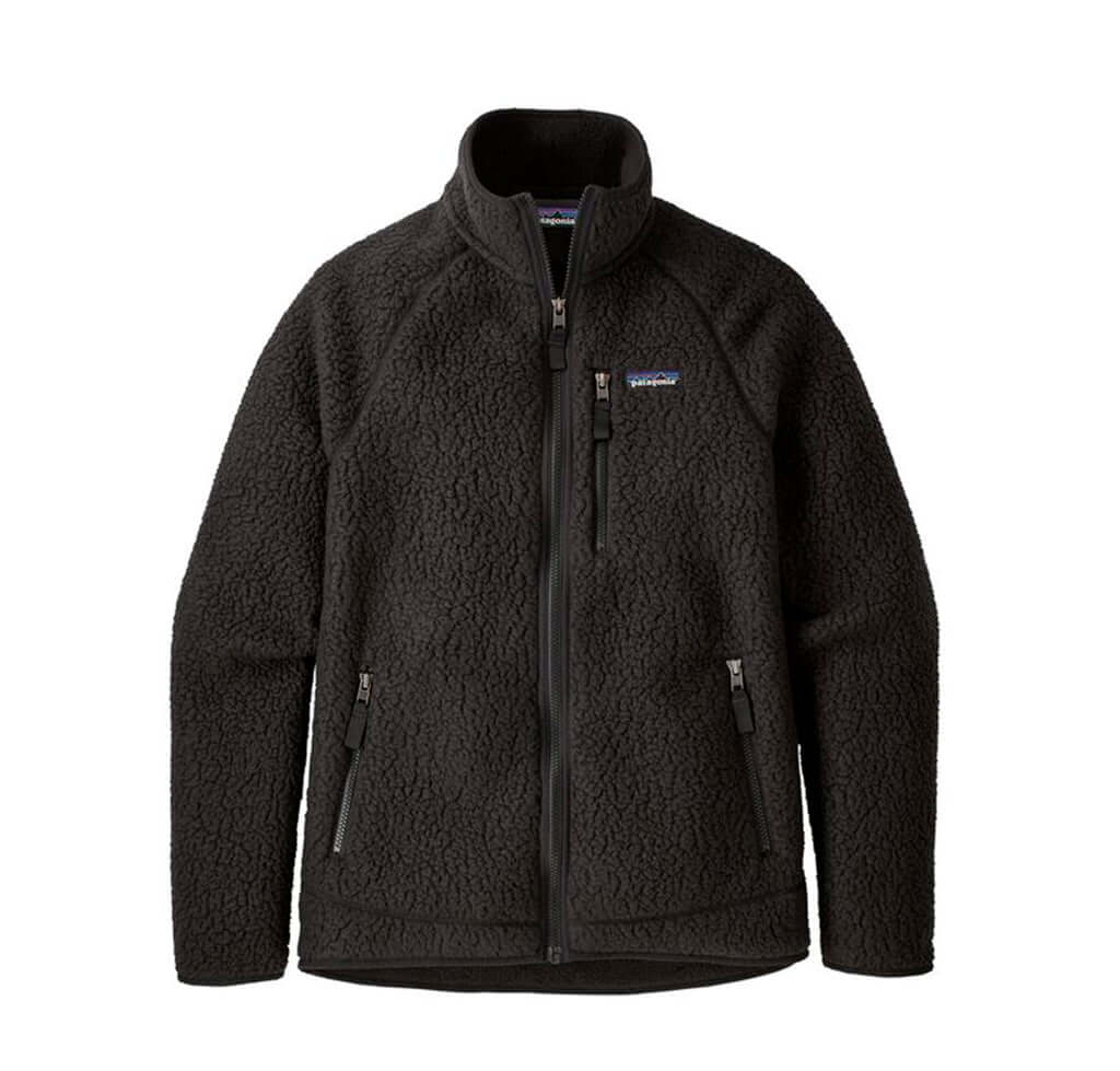 Patagonia Retro Pile Jacket: Black - The Union Project