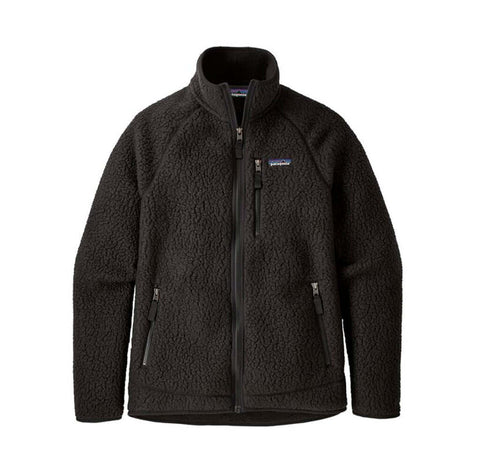 Patagonia Retro Pile Jacket: Black
