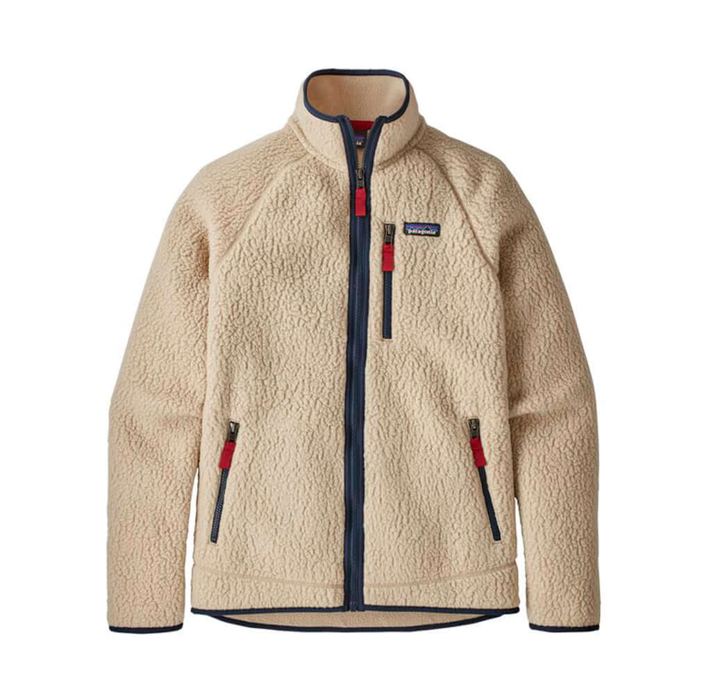 Patagonia Retro Pile Jacket: El Cap Khaki - The Union Project
