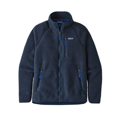 Hoods & Sweats Patagonia Retro Pile Jacket: New Navy - The Union Project, Cheltenham, free delivery