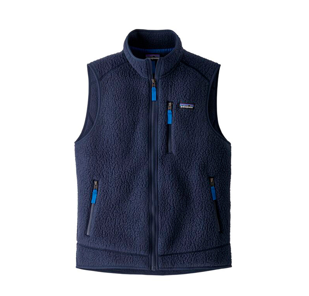 Patagonia Retro Pile Vest: New Navy - The Union Project