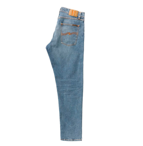 Nudie Jeans Steady Eddie II: Pure Blue