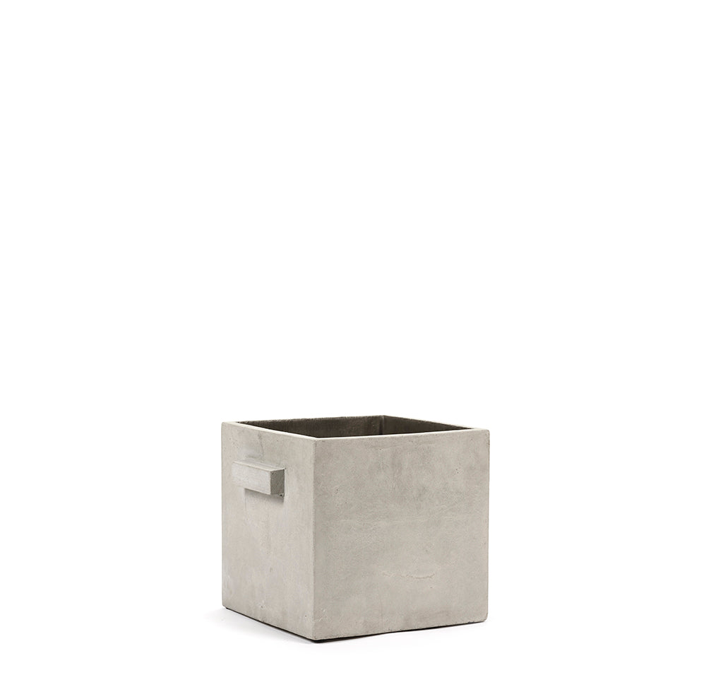 Ceramic Plant Pots Serax Flower Pot M: Grey - The Union Project, Cheltenham, free delivery