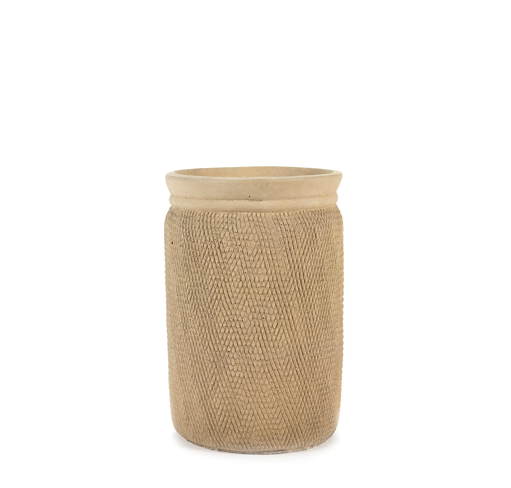 Ceramic Plant Pots Serax Snake Pot L: Sand - The Union Project, Cheltenham, free delivery