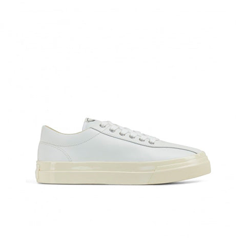 Stepney Workers Club Leather Dellow Sneaker: White - The Union Project