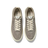 Footwear Stepney Workers Club Suede Dellow Sneaker: Grey - The Union Project, Cheltenham, free delivery