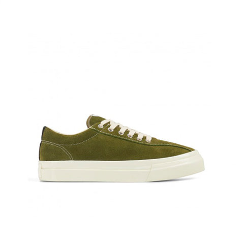 Footwear Stepney Workers Club Suede Dellow Sneaker: Military - The Union Project, Cheltenham, free delivery