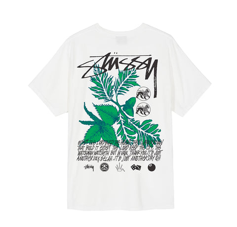 T-Shirts Stussy Bloom Pig. Dyed Tee: Natural - The Union Project, Cheltenham, free delivery