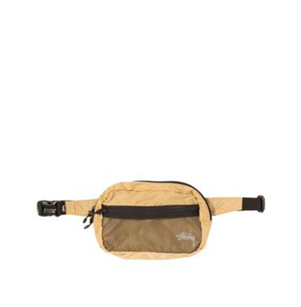Stussy Light Weight Waist Bag: Gold - The Union Project
