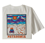 T-Shirts Patagonia Summit Road Organic T-Shirt: White - The Union Project, Cheltenham, free delivery