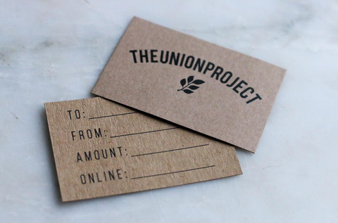 Gift Card Gift Card - The Union Project