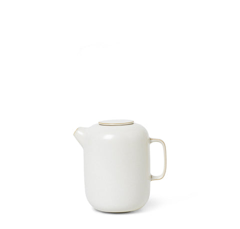 Ferm Living Sekki Coffee Pot: Cream