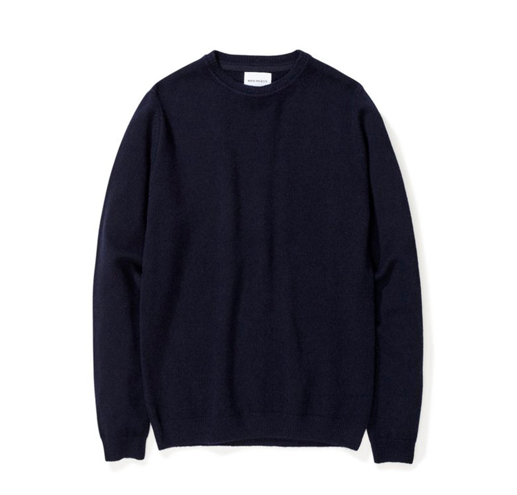 Norse Projects Sigfred Lambswool: Dark Navy - The Union Project