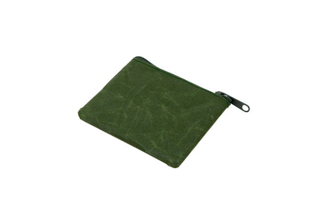 Travel Essentials Coin Case Wide: Dark Green - The Union Project