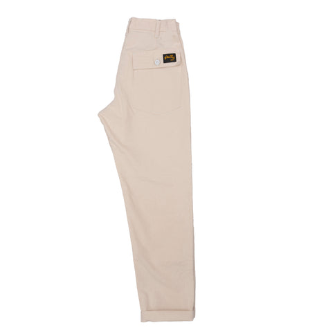 Stan Ray 1200 Tapered Fatigue Pant: Natural Drill