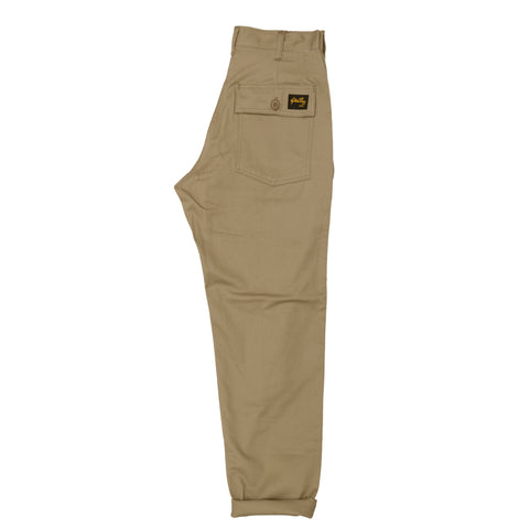Stan Ray 1200 Tapered Fatigue Pant: Khaki Twill