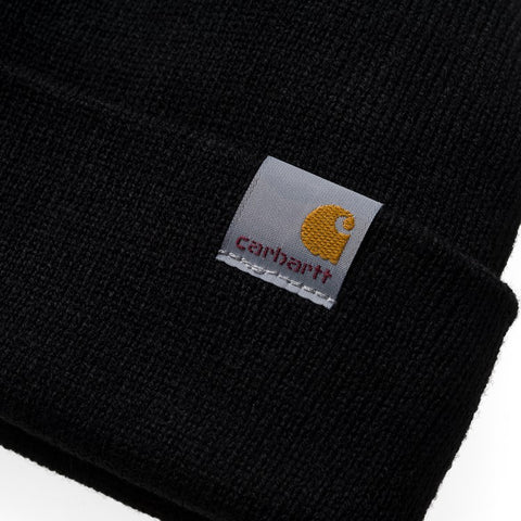 Headwear Carhartt WIP Stratus Hat Low: Black - The Union Project, Cheltenham, free delivery