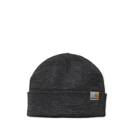 Headwear Carhartt WIP Stratus Hat Low: Dark Grey Heather - The Union Project, Cheltenham, free delivery