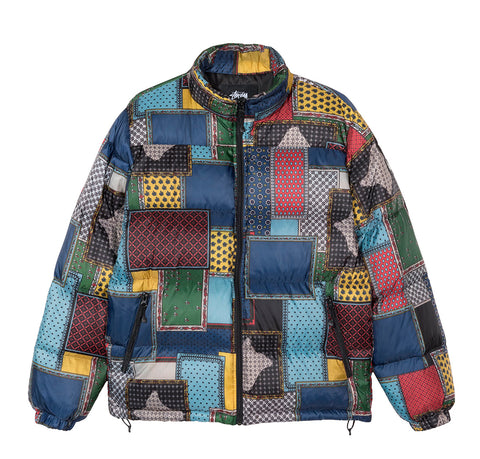 Outerwear Stussy Puffer Jacket: Multicoloured - The Union Project, Cheltenham, free delivery