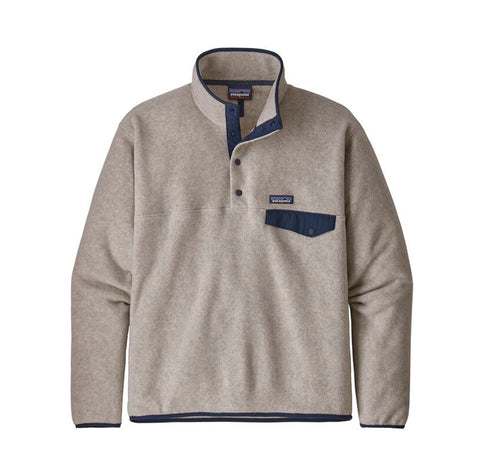 Patagonia LW Synch Snap-T P/O: Oatmeal Heather