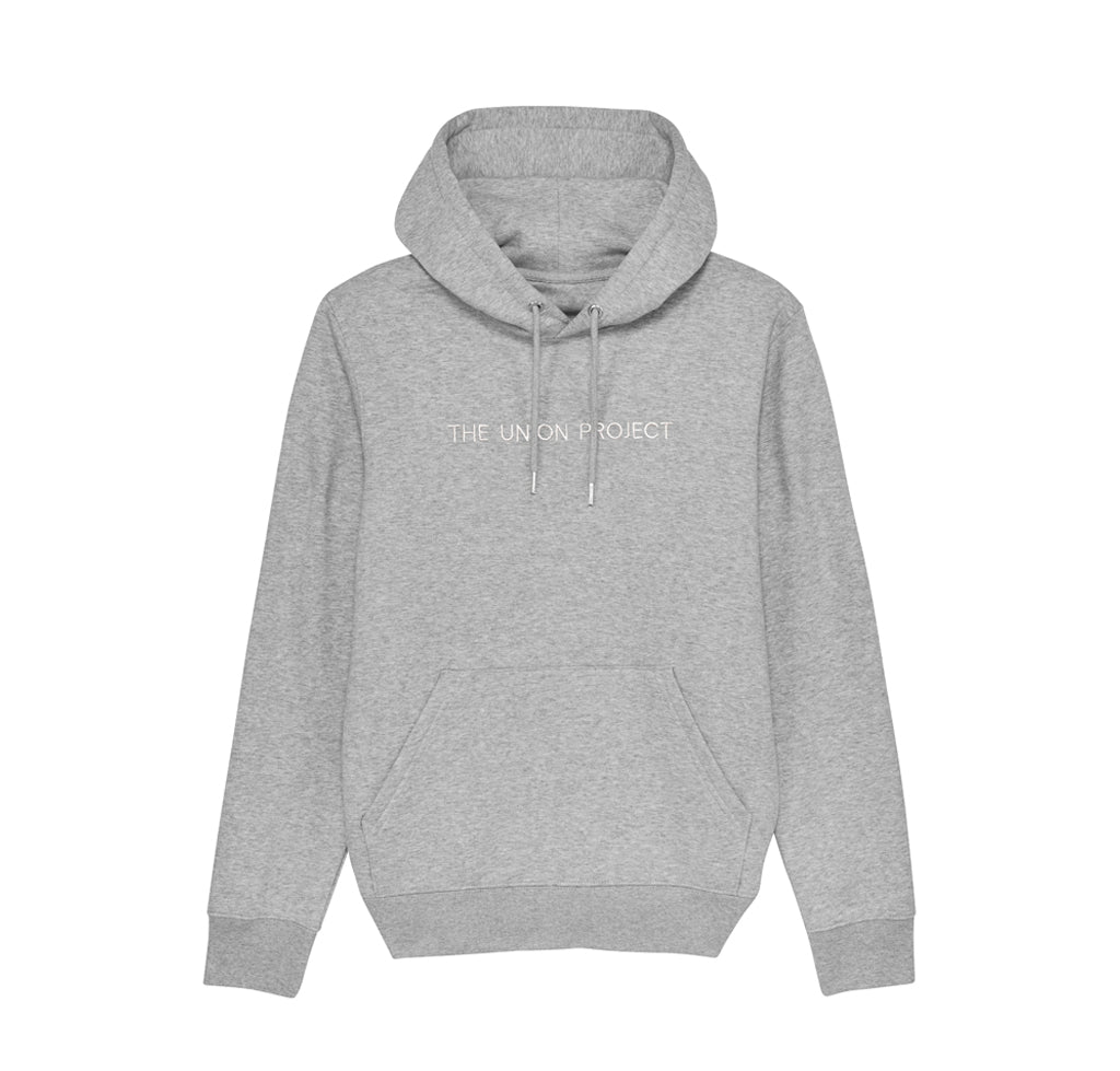 Hoods & Sweats The Union Project: Signature Hooded Sweat: Grey Heather - The Union Project, Cheltenham, free delivery