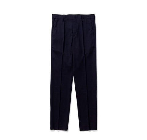 Norse Projects Thomas Wool Trousers: Dark Navy