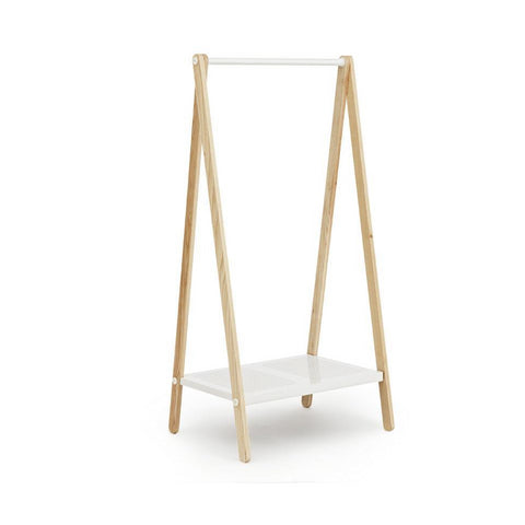 Toj Clothes Rack (Small): White