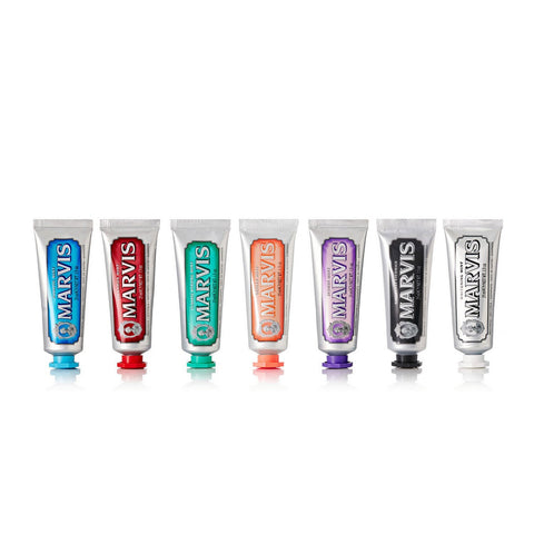 Marvis Travel Toothpaste Flavour Collection