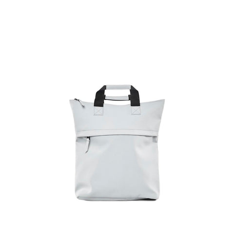 Rains Tote Backpack: Ice Grey