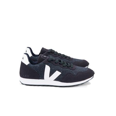 Veja SDU REC Flannel: Dark White/Natural