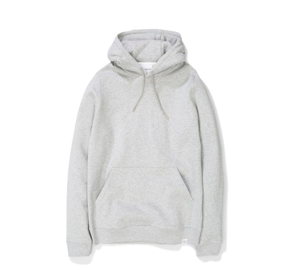 Norse Projects Vagn Classic Hood: Light Grey Melange - The Union Project