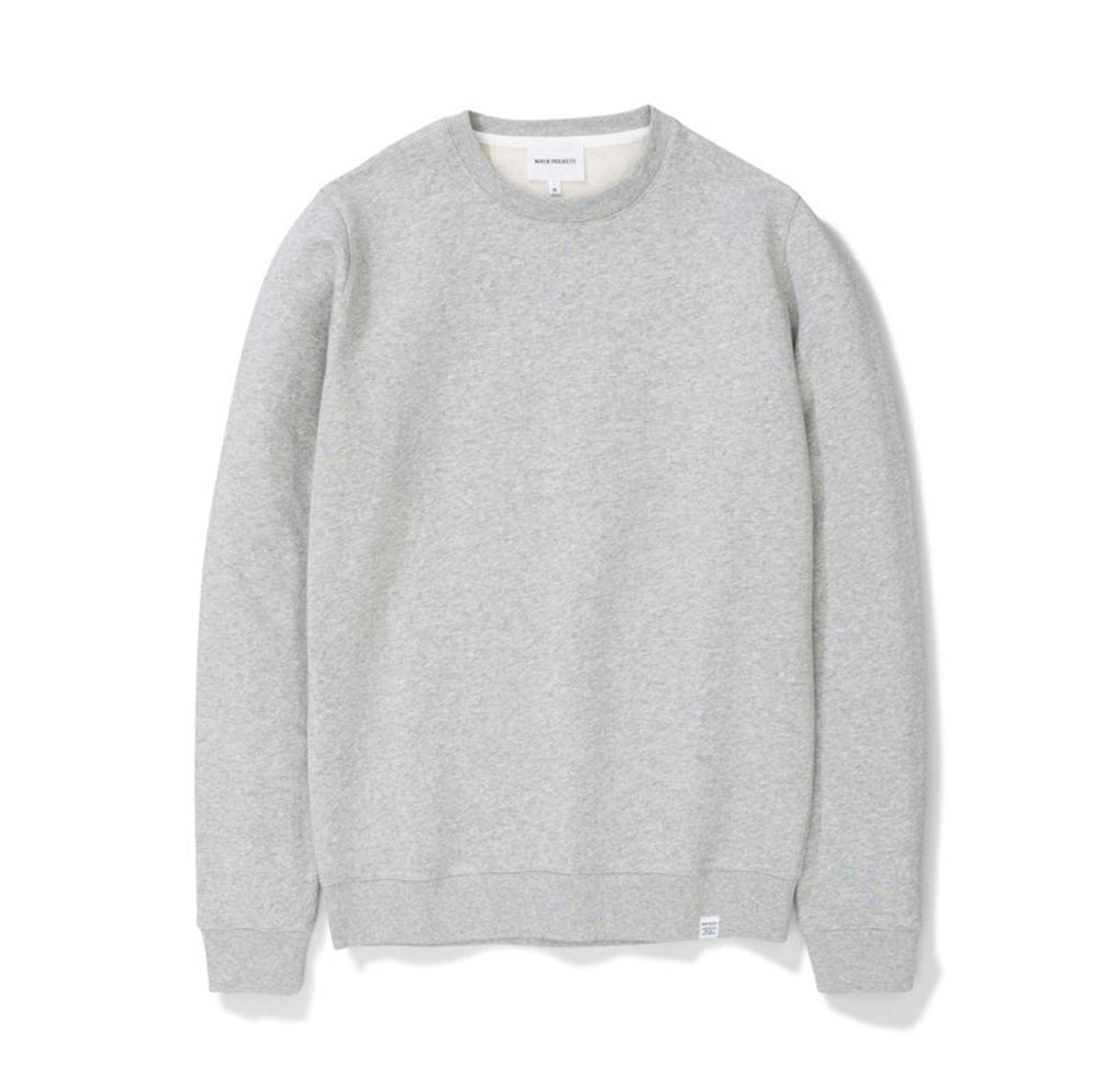 Norse Projects Vagn Classic Crew: Grey Heather - The Union Project