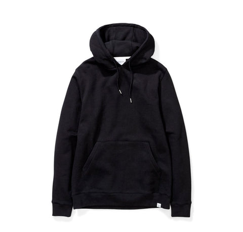 Hoods & Sweats Norse Projects Vagn Classic Hood: Black - The Union Project, Cheltenham, free delivery