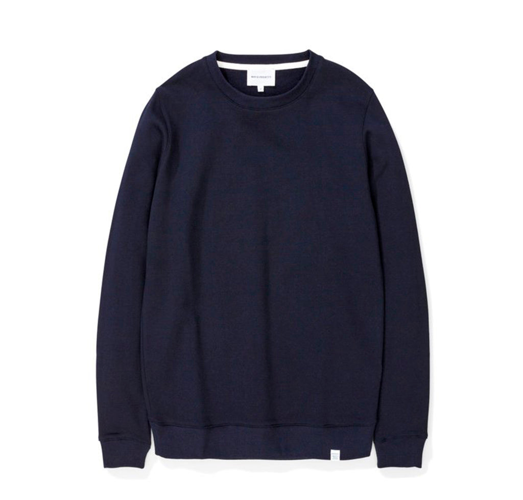 Norse Projects Vagn Classic Crew: Dark Navy - The Union Project
