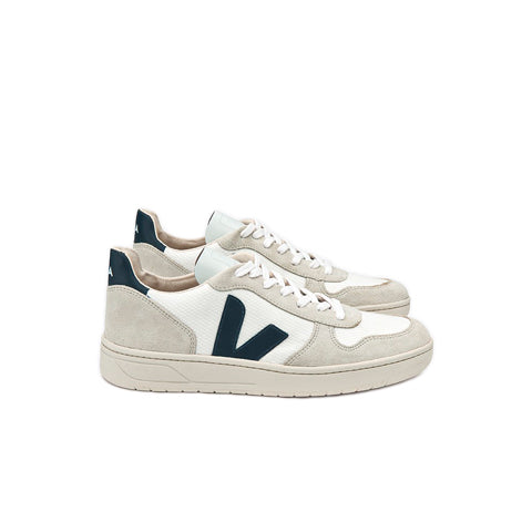 Footwear Veja B-Mesh V-10: White/Nautico - The Union Project, Cheltenham, free delivery