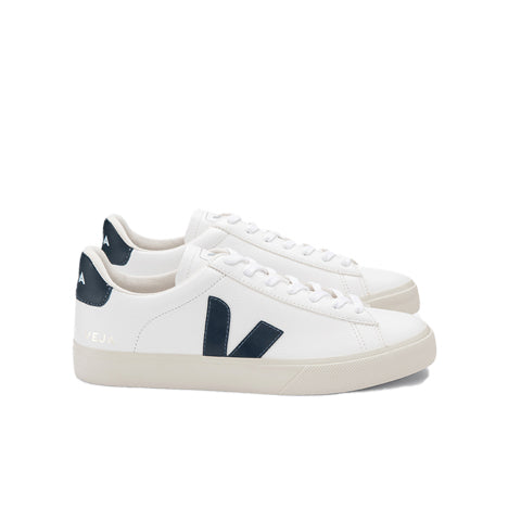 Footwear Veja Campo: White/Nautico - The Union Project, Cheltenham, free delivery